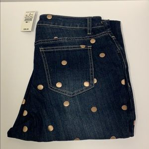 NWT nAshley Stewart Jeans  Size 12